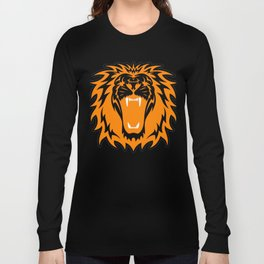 Wild jungle Animal Lion Roar Long Sleeve T-shirt