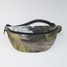 Muddy pathway in rural England Fanny Pack