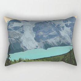 Mount Robson Provincial Park Rectangular Pillow