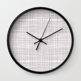 hip to be (not so) square Wall Clock