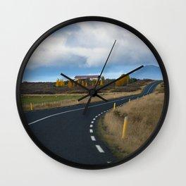 I.C.E.L.A.N.D - Ring Road Wall Clock