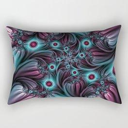 Fractal Into The Depth Rectangular Pillow