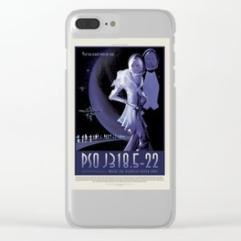 PSO J318.5-22 - NASA Space Travel Poster Clear iPhone Case