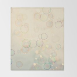 Bubbles  Throw Blanket