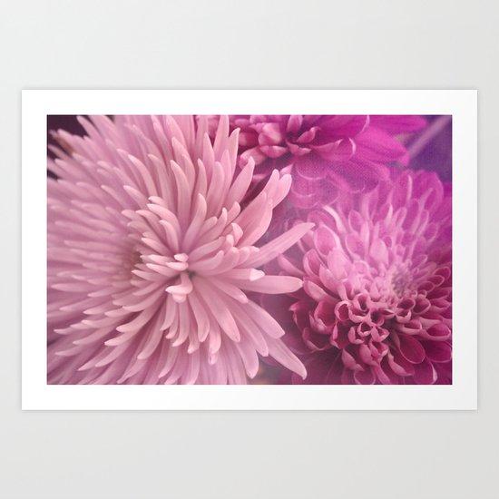 Pink Hour Art Print