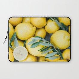 Lemons & Olive branches | Italian lifestyle | Travel photography food wall art print Laptop Sleeve