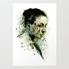 bury Art Print