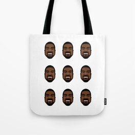 Ye Pattern Color Tote Bag