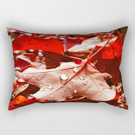 Autumn red Rectangular Pillow
