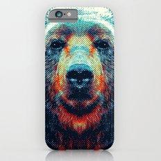 Bear - Colorful Animals iPhone 6s Slim Case