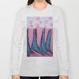 Apron on a Tablecloth. Long Sleeve T-shirt
