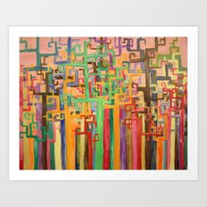 Tree Abstraction  Art Print