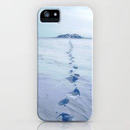 A Long Walk iPhone Case