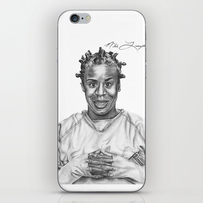 Crazy Eyes from OITNB iPhone Skin