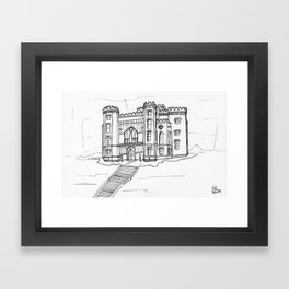 Baton Rouge Louisiana Old State Capitol Framed Art Print