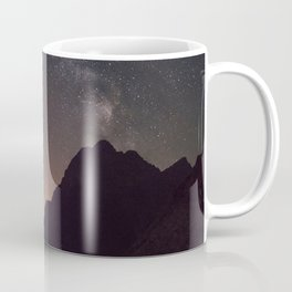 Mountain under the Stars Coffee Mug