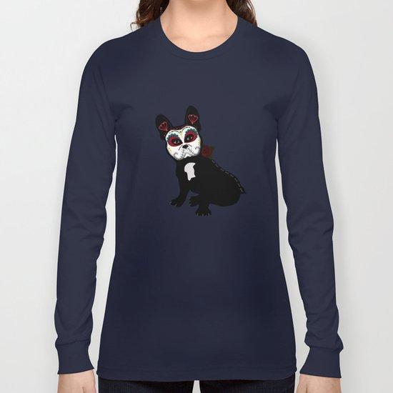Frenchie Sugar Long Sleeve T-shirt