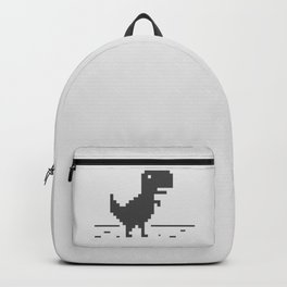 Google Chrome's Dino Backpack