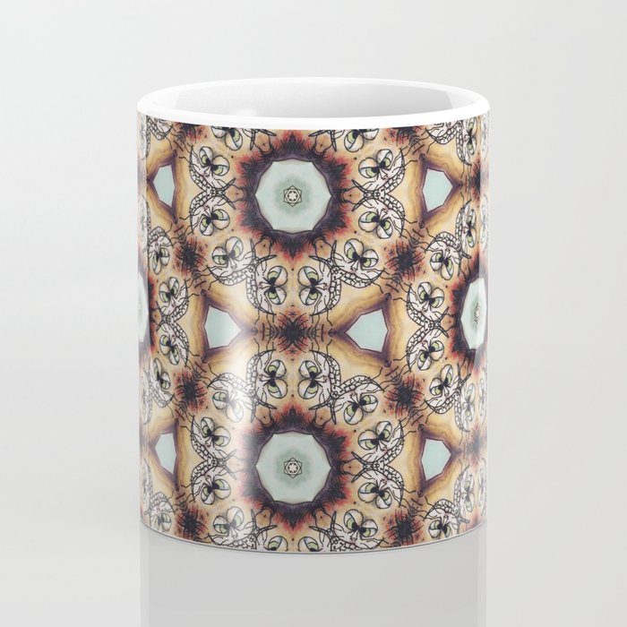 Nasty Cat Kaleidoscope 2 Coffee Mug