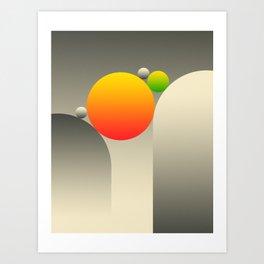 GRAVITY 04 Art Print