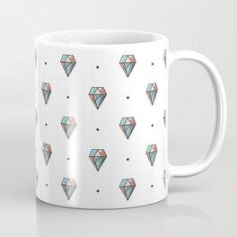 Diamonds are forever Pattern 1 Coffee Mug
