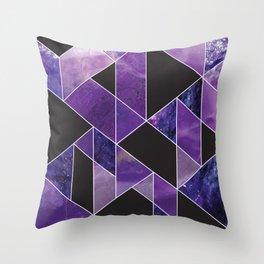 Sugilite Throw Pillow