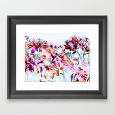 Mums the Word Framed Art Print