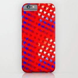 Jiggly Stripes iPhone Case