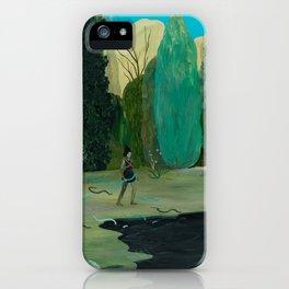 Snake Lake iPhone Case