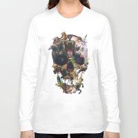 kingdom hearts Long Sleeve T-shirts featuring Kingdom by Ali GULEC