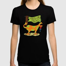 Hand Dog - Trick or Treat T-shirt