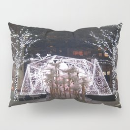 Winter Tent in NYC Pillow Sham