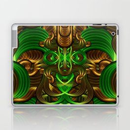 Jungle Roots Temple Laptop & iPad Skin