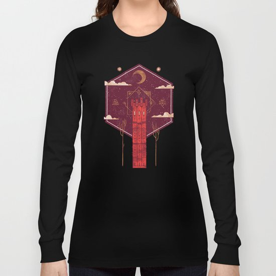 The Crimson Tower Long Sleeve T-shirt