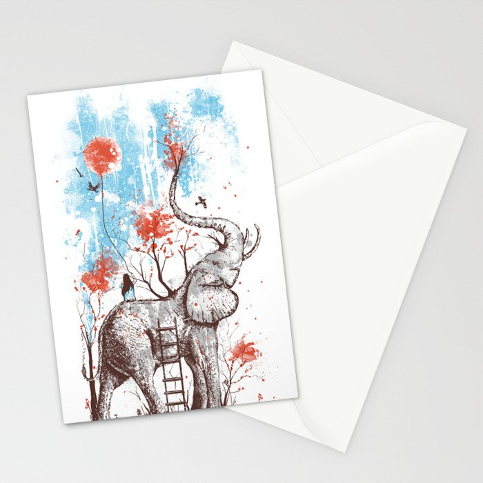 A Happy Place Stationery Cards