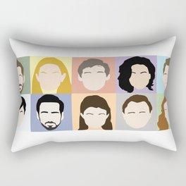 Once Upon A Cast Rectangular Pillow