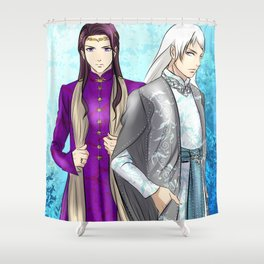 Elves (Austria-Prussia) Shower Curtain