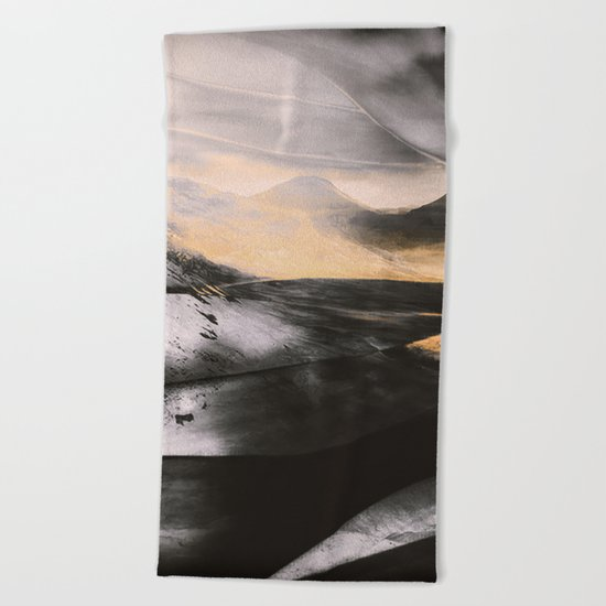 ABSTRACT#411 Beach Towel