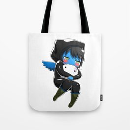 Fuzzy Chibi Luc (Expression 2) (no cloud) Tote Bag
