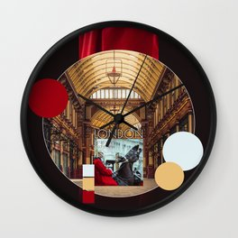 COLLAGE: London I Wall Clock