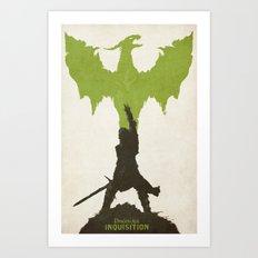 Dragon Age: Inquisition V2 Art Print