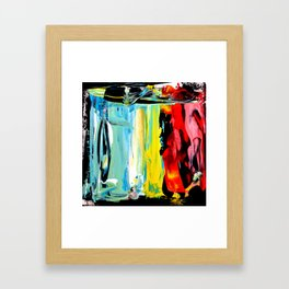 Color Abstract 3 Framed Art Print