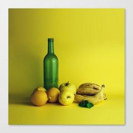 Lemon lime - still life Canvas Print