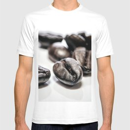 French roast coffee beans T-shirt