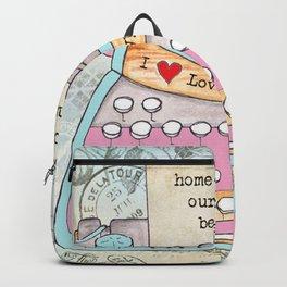 Typewriter #6 Backpack