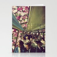 subway Stationery Cards featuring subway by Caroline A