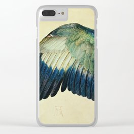 Albrecht Durer - Wing Of A Blue Roller Clear iPhone Case