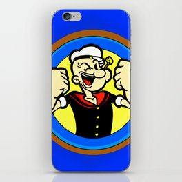 sailor man iPhone Skin