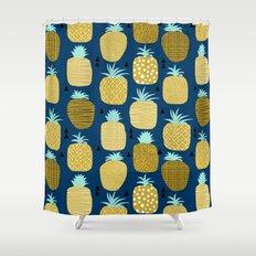 Shower Curtain Navy And Yellow Curtain MenzilperdeNet