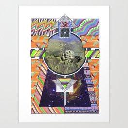 Temple Of Doom (2011) Art Print